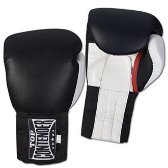 Top Contender Leather Training Gloves